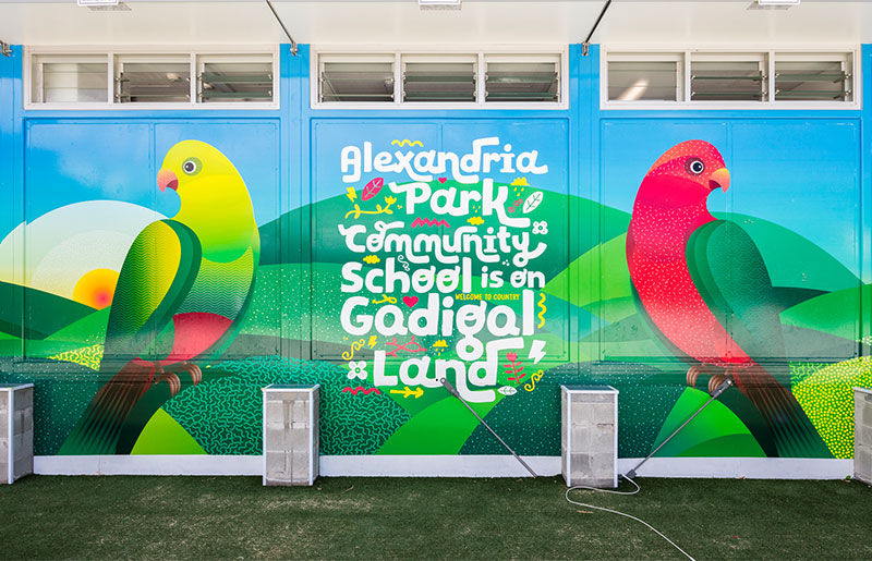 Alexandria Park Community School Super Graphics