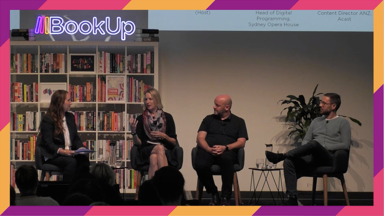 BookUp Conference designed by Leading Hand Design