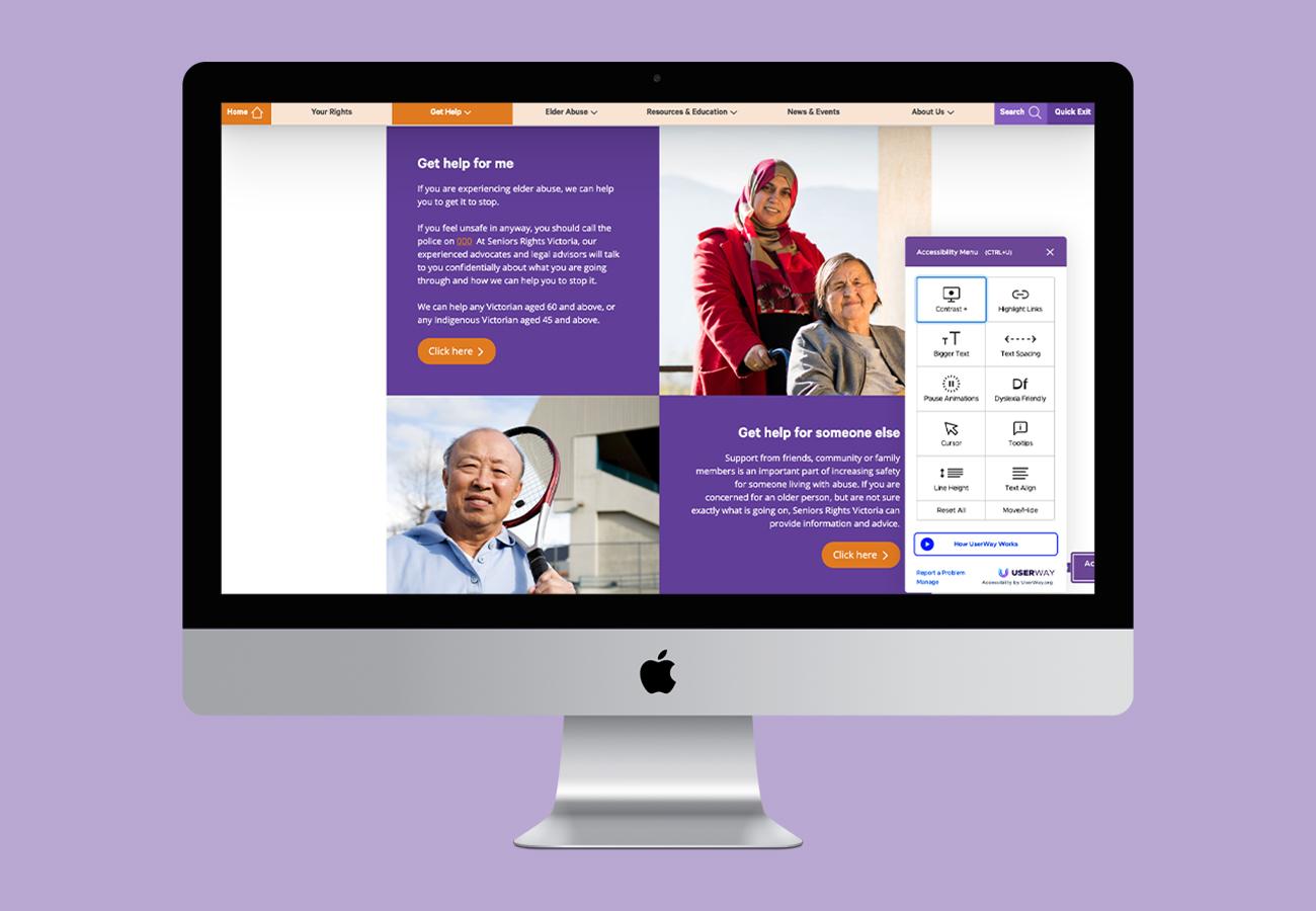 Seniors Rights Victoria Website