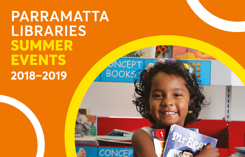 Parramatta City Library Summer Events Guide