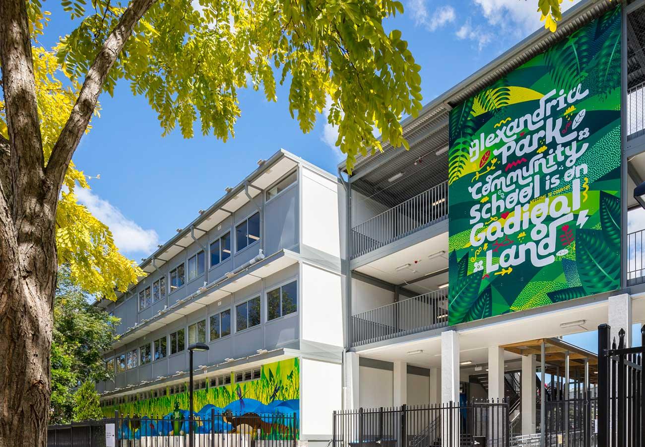 Alexandria Park Community School Super Graphics
