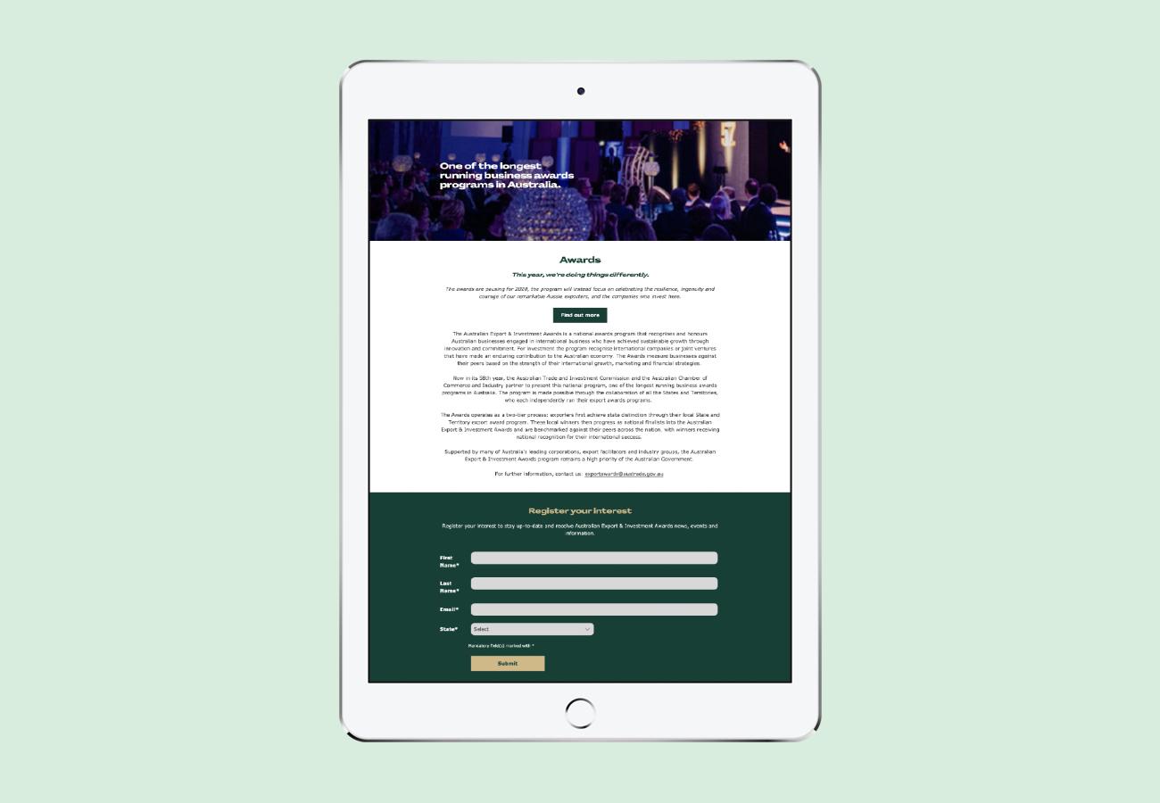 Australian Export & Investment Awards
