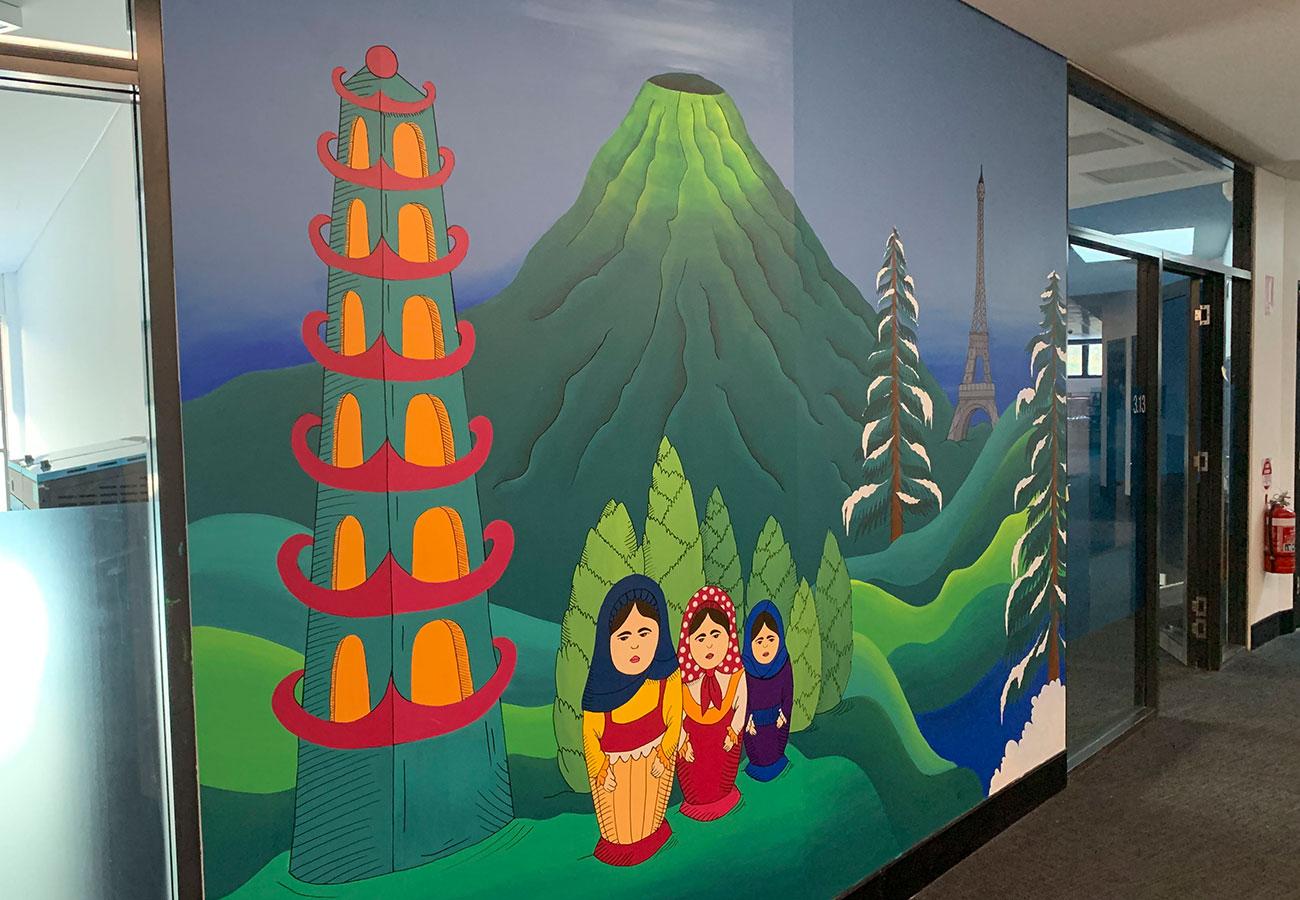Major School Mural