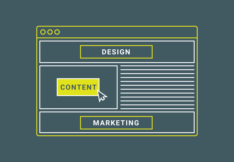 Creating a Great Website through Design, Content and Marketing