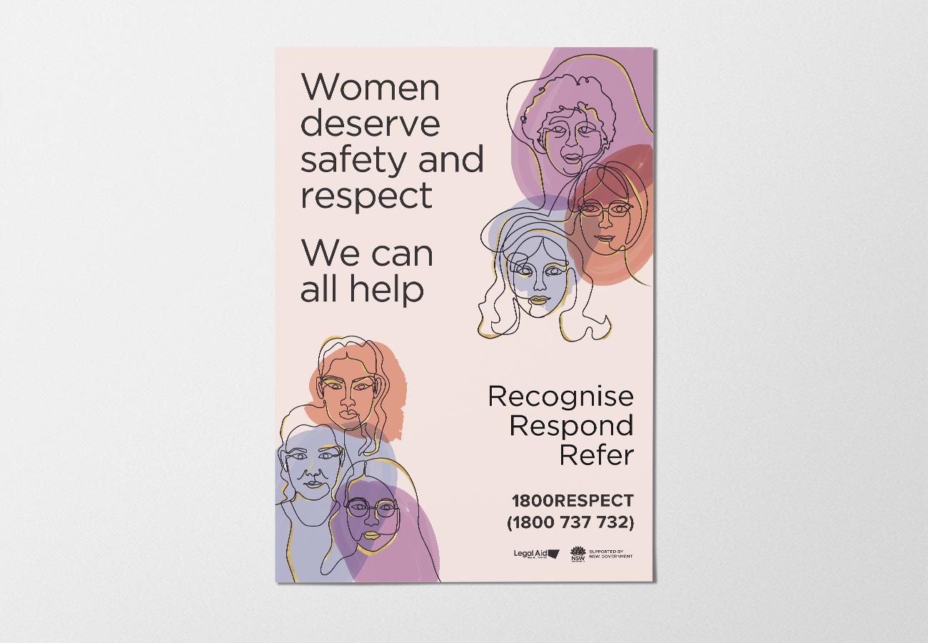 Cut it Out Domestic Violence Campaign