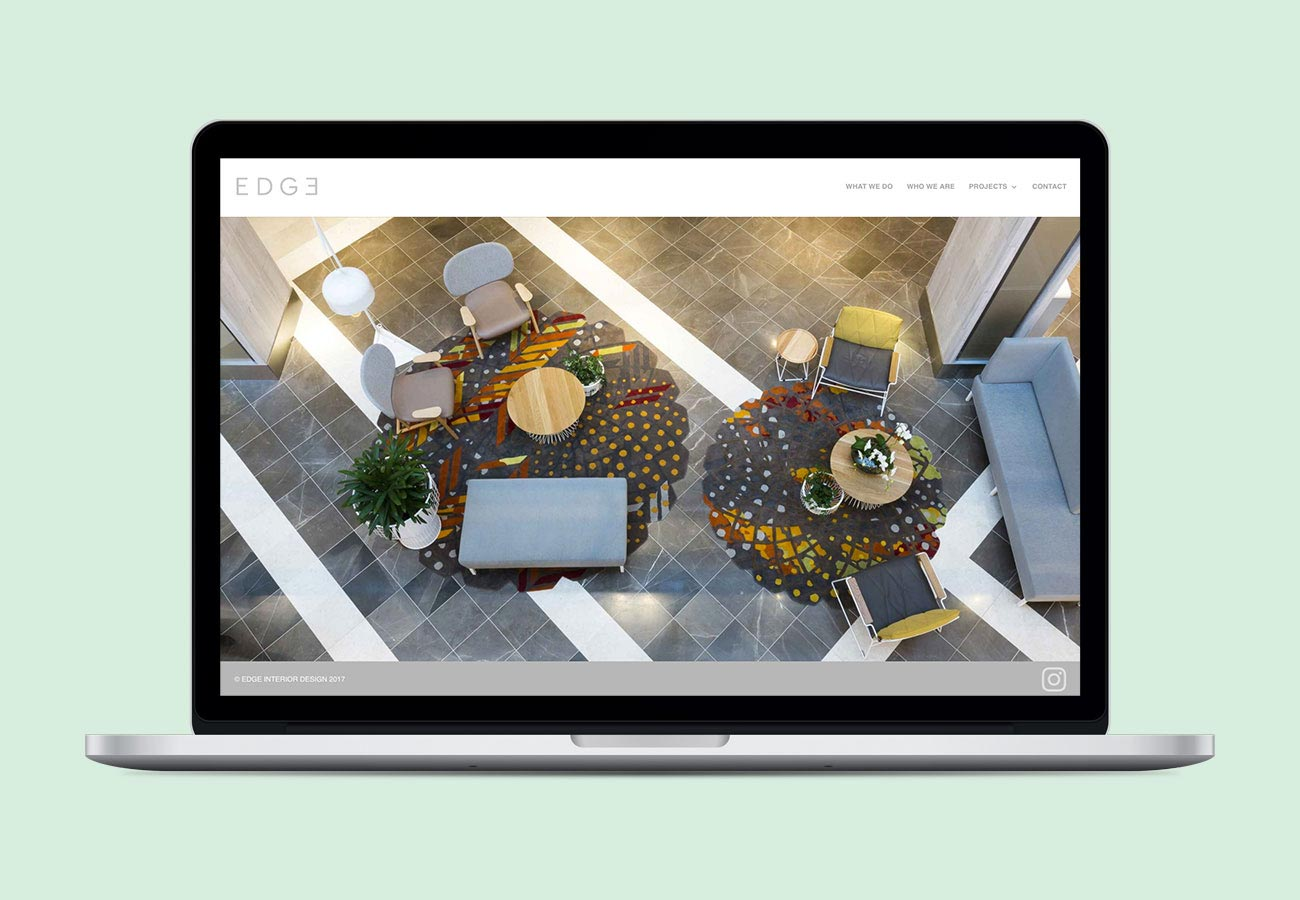 EDGE Visual Identity and Web Design