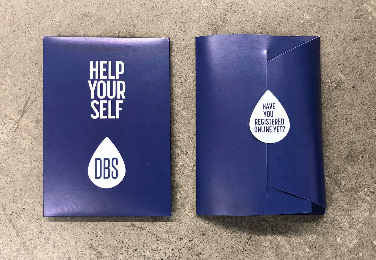HIV Testing Kit Packaging