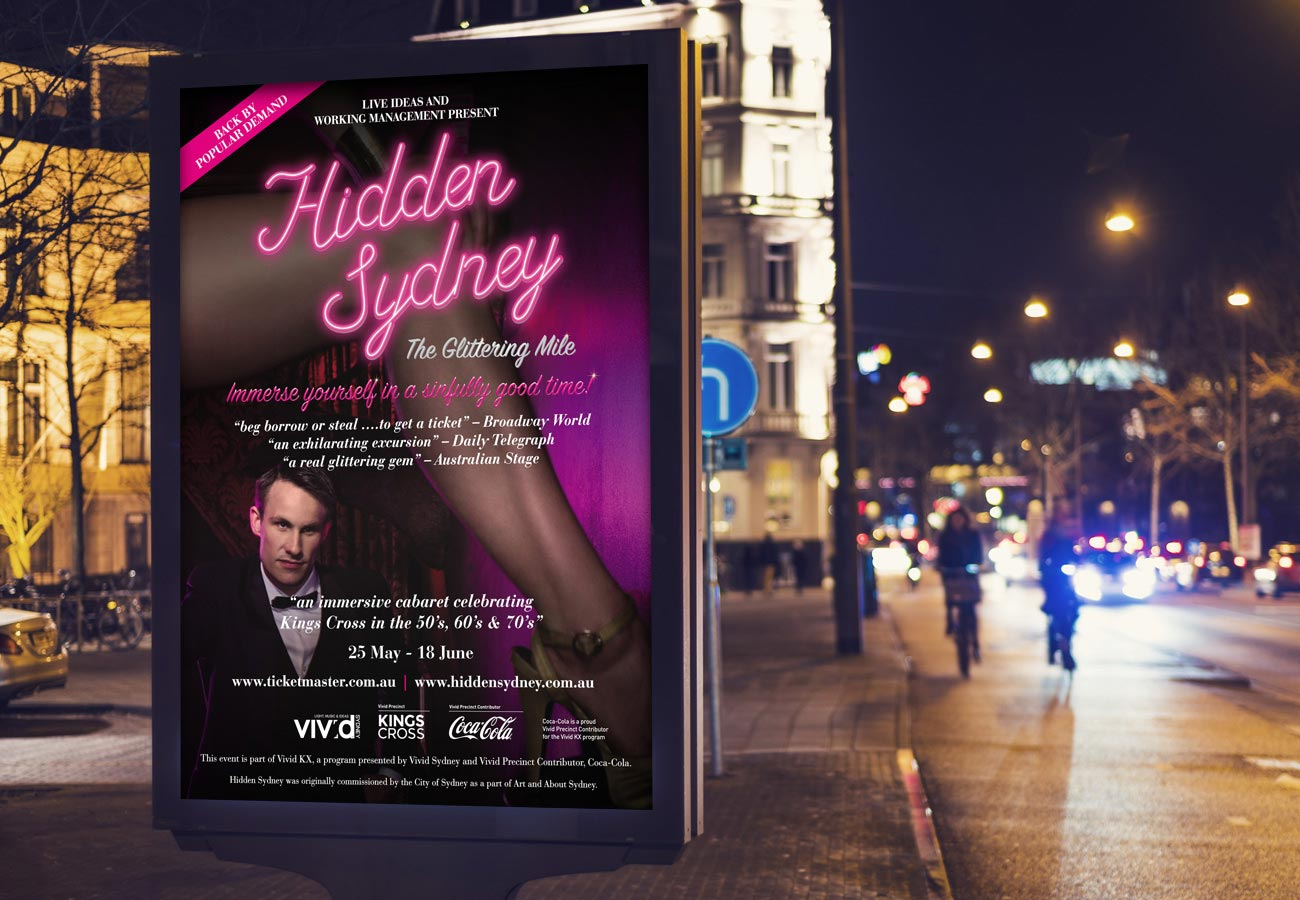 Hidden Sydney Visual Identity