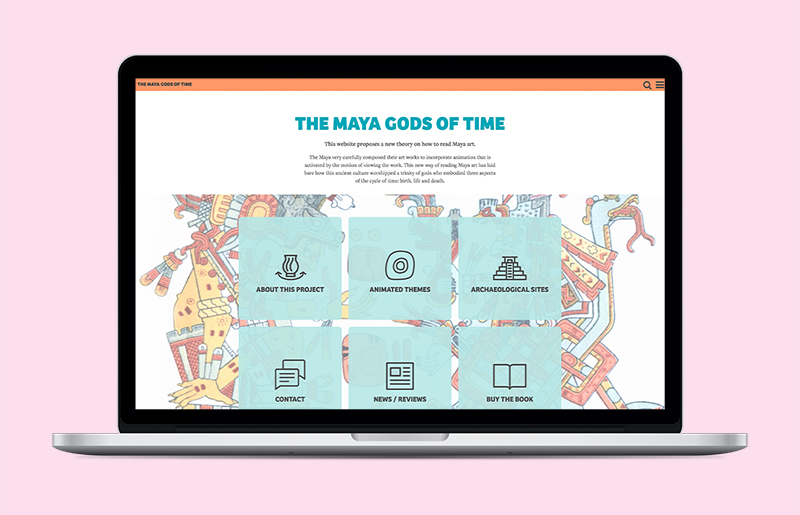 Maya Gods of Time Website