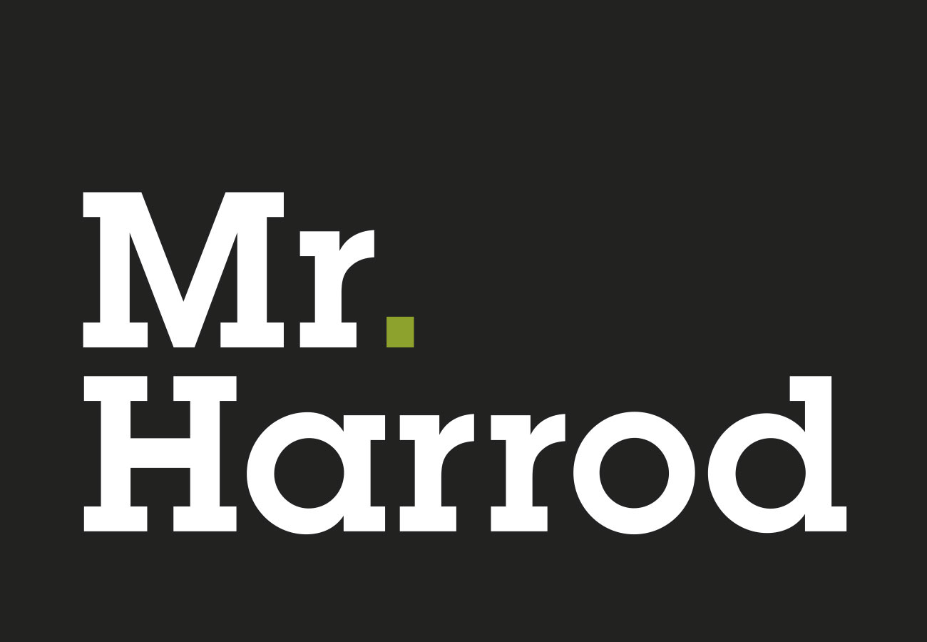 Mr Harrod Visual Identity