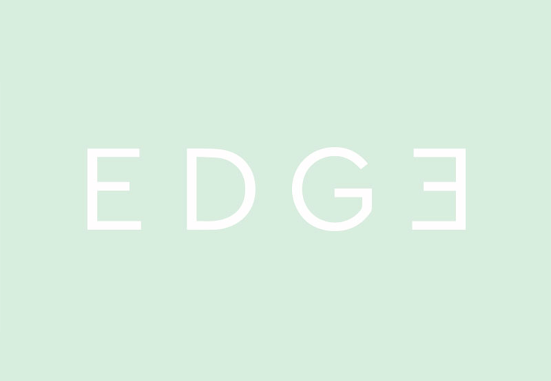 Leading Hand developed the new visual identity for EDGE interior design