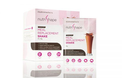 Nutrimetics Nutrishape Range Consumer Packaging