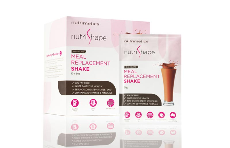 Nutrimetics Nutrishape Range Consumer Packaging