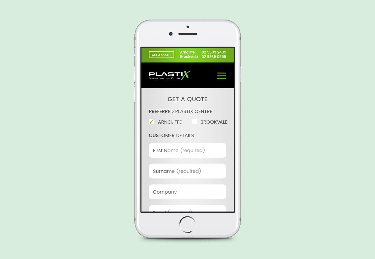 Plastix Website Redesign in WordPress