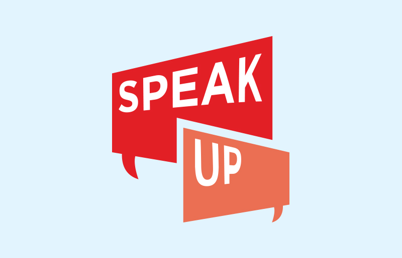 Speak Up Campaign against elder abuse