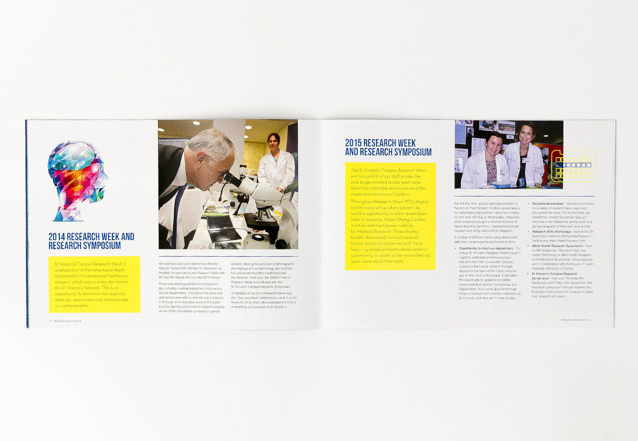St Vincent's Centre for Applied Medical Research Review