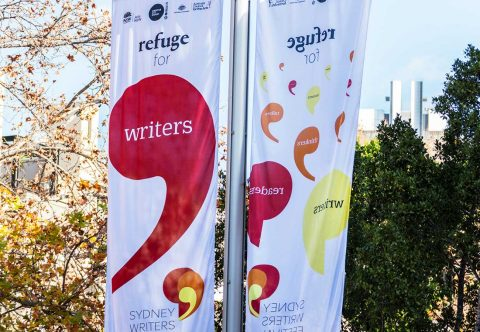Sydney Writers' Festival 2017 Environmental Signage