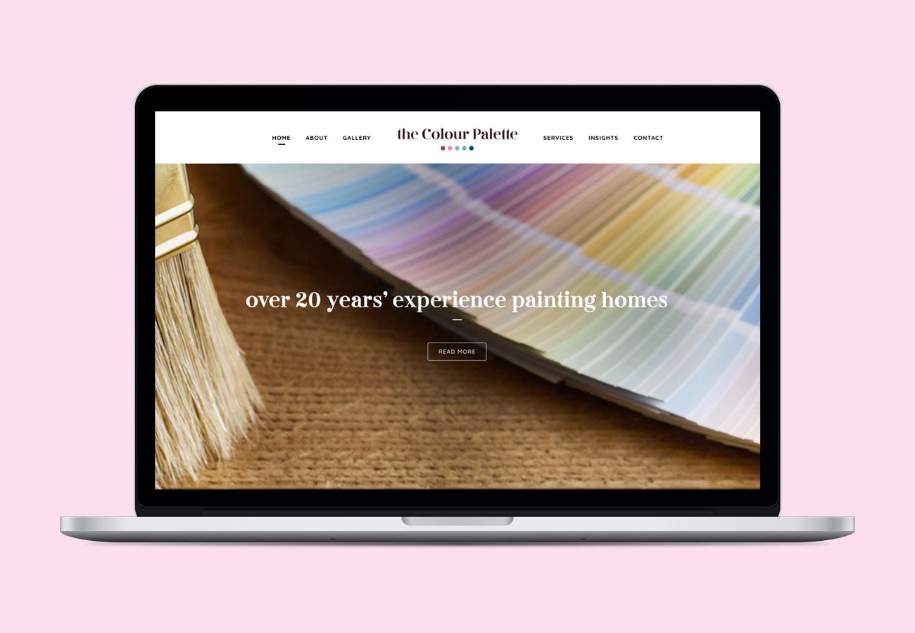 The Colour Palette Website