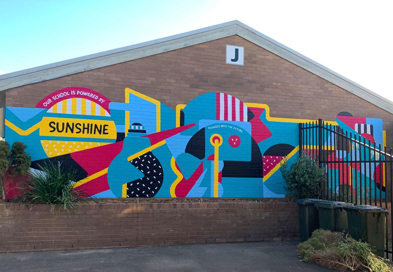 South Sydney High School Mural