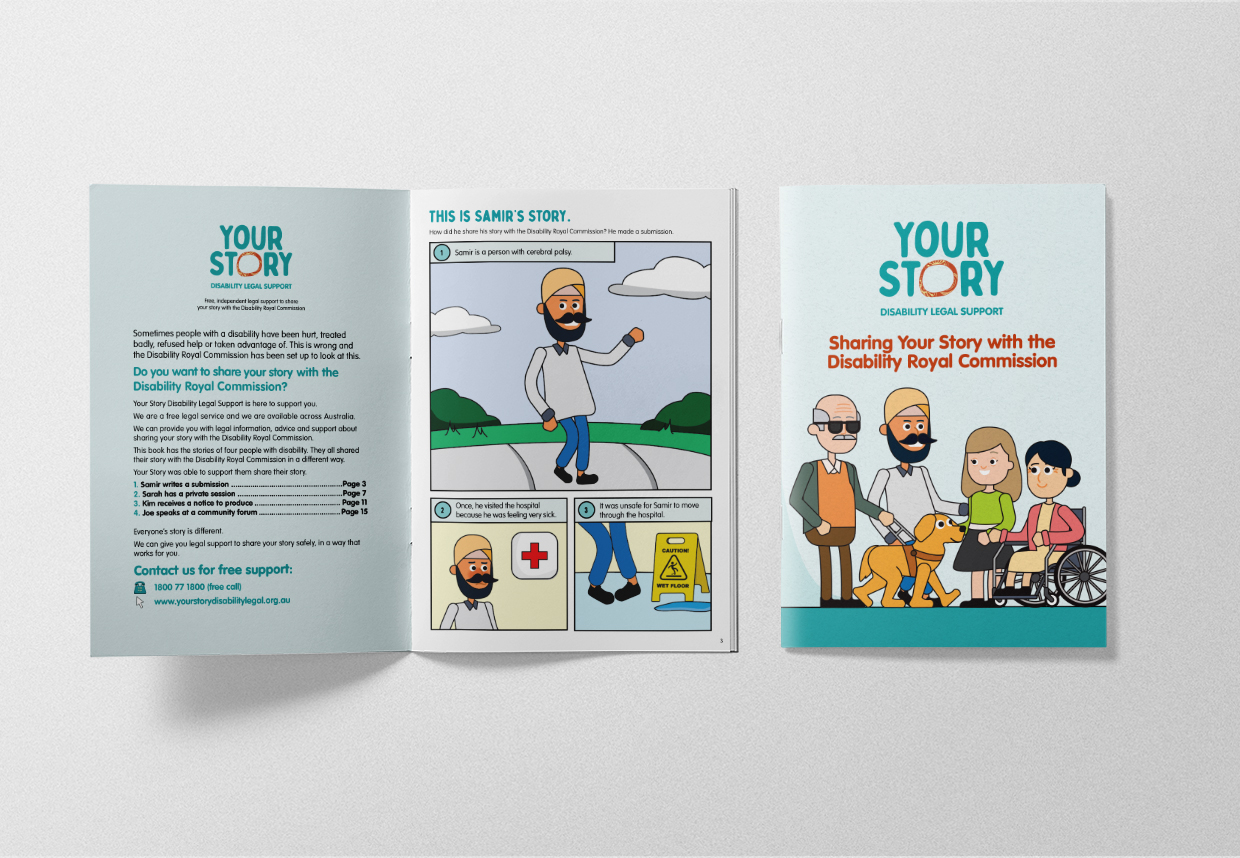Your Story Disability Legal Support Storybook